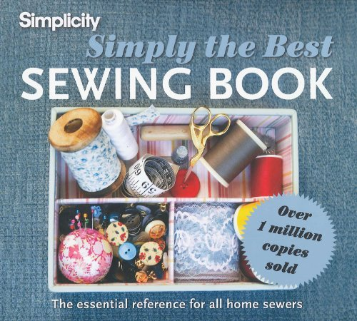 Simplicity Simply the Best Sewing Book The Essential Reference for All Home Sewers  2011 edition cover