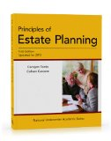 Principles of Estate Planning:   2013 edition cover