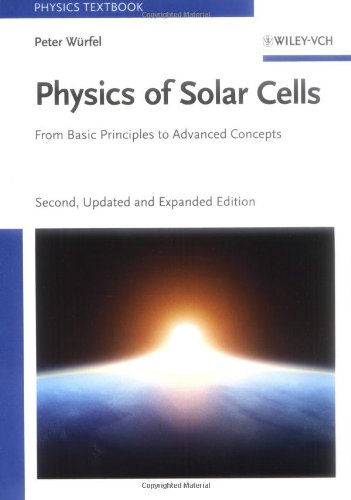 Physics of Solar Cells From Basic Principles to Advanced Concepts 2nd 2009 edition cover