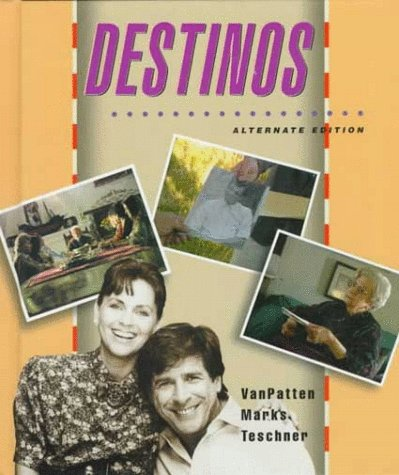 Destinos  2nd 1997 edition cover