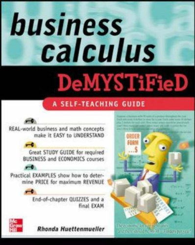 Business Calculus Demystified   2006 edition cover