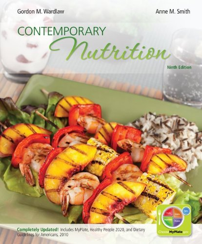 Loose Leaf Version of Contemporary Nutrition Updated with Myplate, 2010 Dietary Guidelines and HP 2020  9th 2013 edition cover
