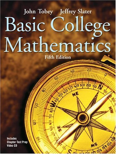 Basic College Mathematics  5th 2005 (Revised) 9780131490574 Front Cover