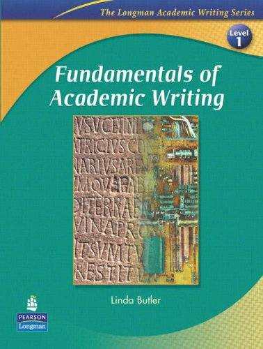 Fundamentals of Academic Writing   2007 edition cover