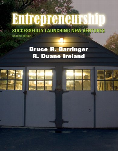 Entrepreneurship Successfully Launching New Ventures 2nd 2008 (Revised) edition cover