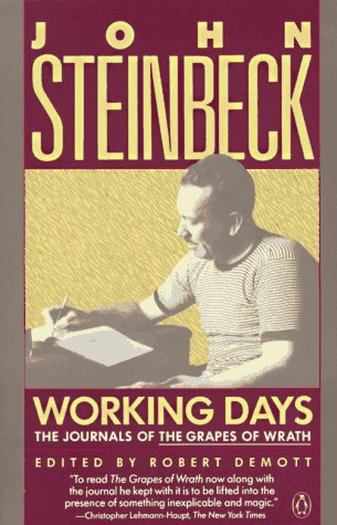 Working Days The Journals of the Grapes of Wrath Reprint  edition cover