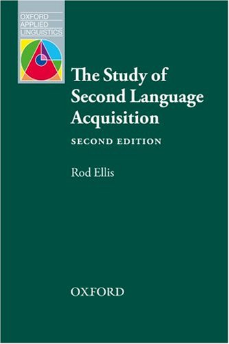 Study of Second Language Acquisition  2nd 2008 edition cover