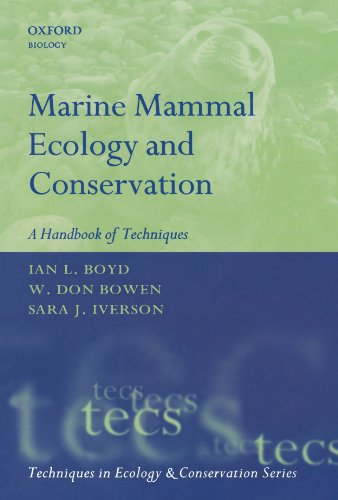 Marine Mammal Ecology and Conservation A Handbook of Techniques  2010 edition cover