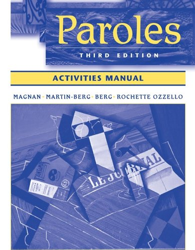 Paroles  3rd 2006 (Revised) edition cover