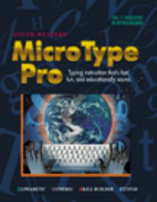 Microtype Pro Macintosh Single User Licence E6 6th 1999 9780538675574 Front Cover