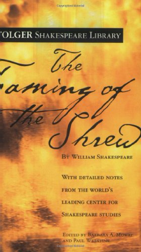Taming of the Shrew   1992 9780743477574 Front Cover