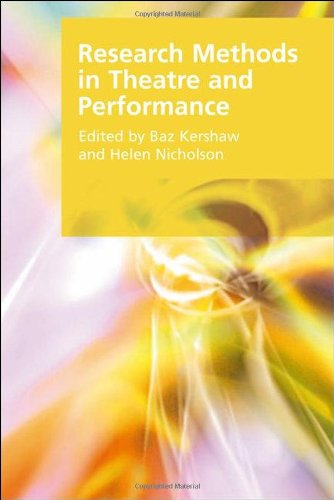 Research Methods in Theatre and Performance   2011 9780748641574 Front Cover