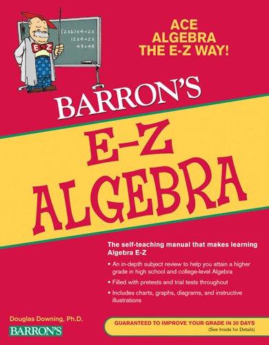 E-Z Algebra  5th 2009 (Revised) edition cover