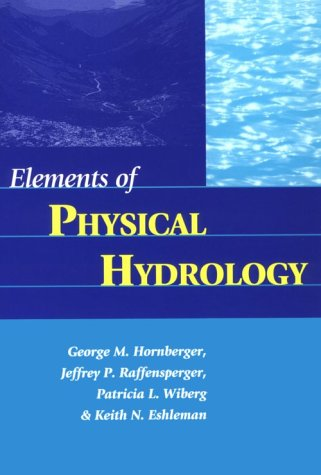 Elements of Physical Hydrology  N/A edition cover