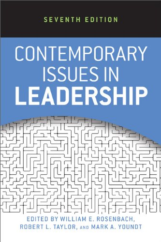 Contemporary Issues in Leadership  2nd 2014 9780813345574 Front Cover