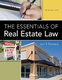 The Essentials of Real Estate Law:   2014 edition cover
