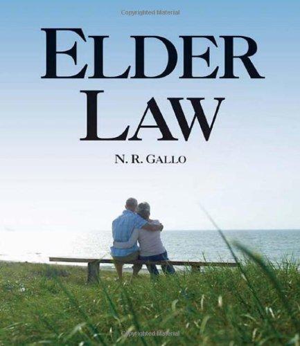 Elder Law   2009 9781401842574 Front Cover