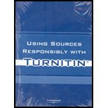 USING SOURCES RESPONSIBLY W/TU 1st 9781413029574 Front Cover