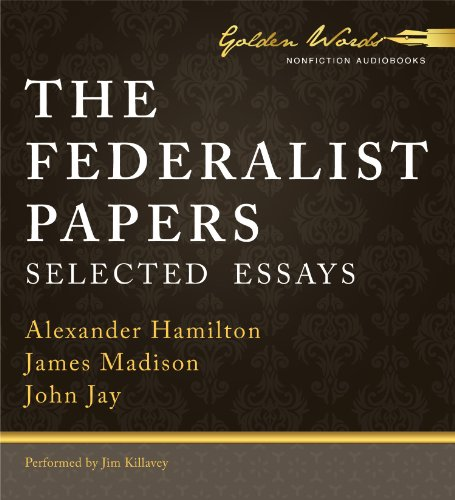 The Federalist Papers: Selected Essays  2013 edition cover
