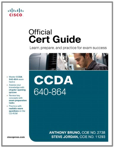 CCDA 640-864 Official Cert Guide  4th 2011 (Revised) edition cover