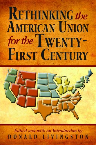 Rethinking the American Union for the Twenty-First Century   2011 edition cover