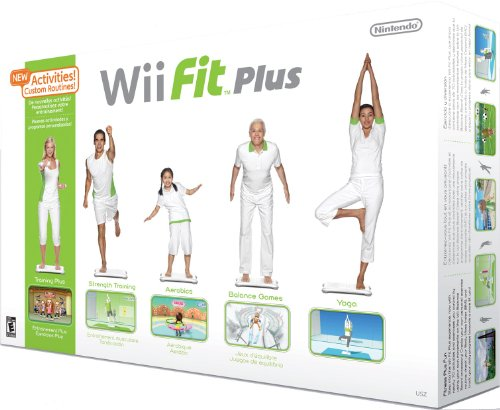 Wii Fit Plus with Balance Board Nintendo Wii artwork