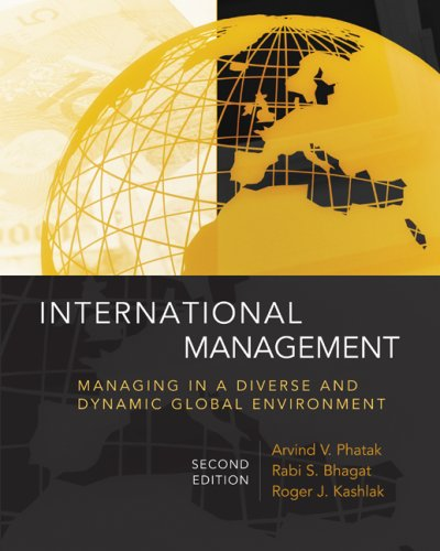 International Management Managing in a Diverse and Dynamic Global Environment 2nd 2009 edition cover