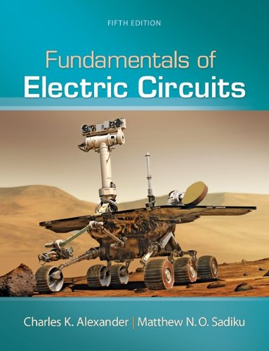 Fundamentals of Electric Circuits  5th 2013 9780073380575 Front Cover