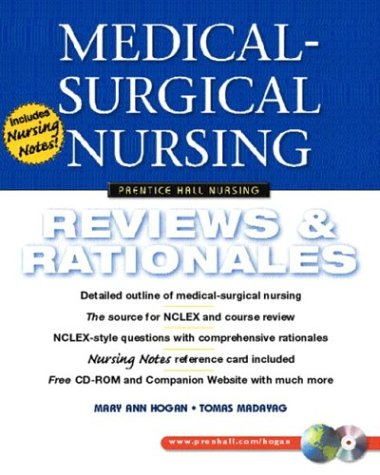 Medical-Surgical Nursing Reviews and Rationales  2004 edition cover