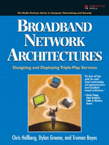Broadband Network Architectures Designing and Deploying Triple-Play Services  2007 edition cover