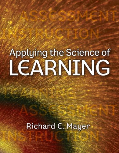 Applying the Science of Learning   2011 edition cover