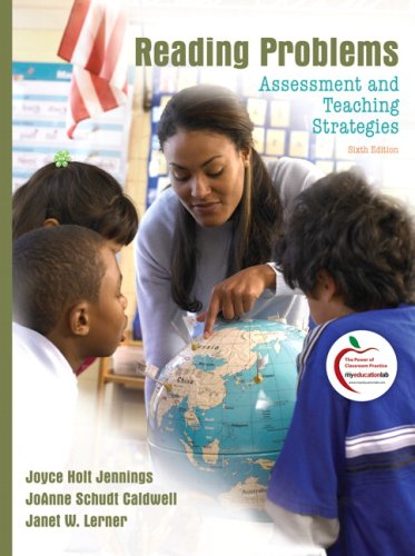 Reading Problems Assessment and Teaching Strategies 6th 2010 edition cover