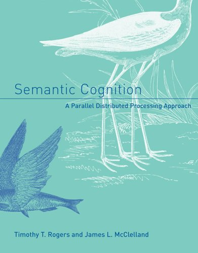Semantic Cognition A Parallel Distributed Processing Approach  2006 edition cover