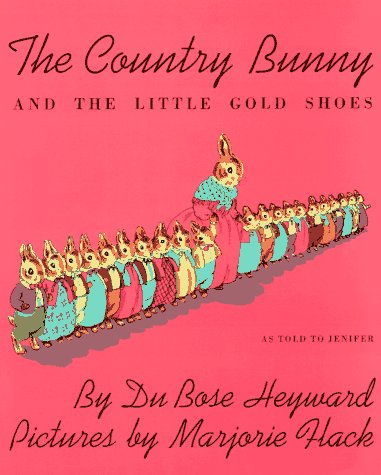 Country Bunny and the Little Gold Shoes   1939 edition cover