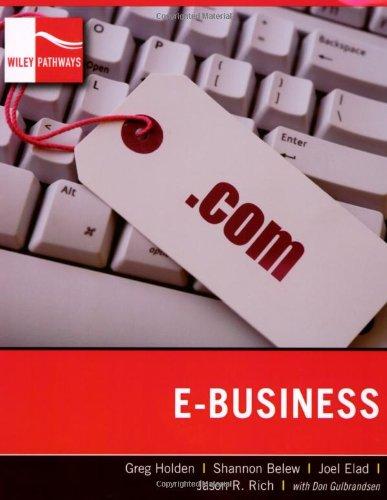 E-Business   2008 edition cover