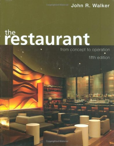 Restaurant From Concept to Operation 5th 2008 (Revised) edition cover