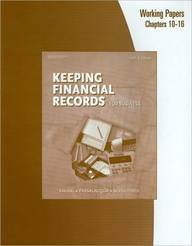 Financial Records for Business  10th 2006 9780538441575 Front Cover