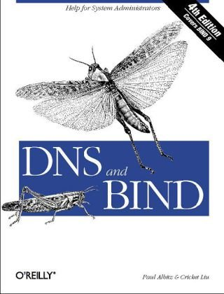 DNS and BIND  5th 2006 (Revised) edition cover