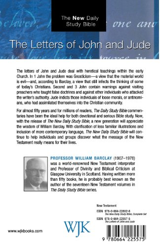 Letters of John and Jude  3rd 2002 edition cover