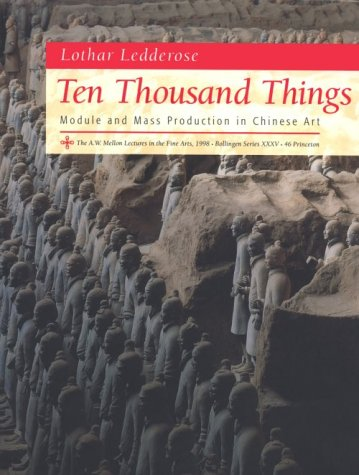 Ten Thousand Things Module and Mass Production in Chinese Art  2001 edition cover