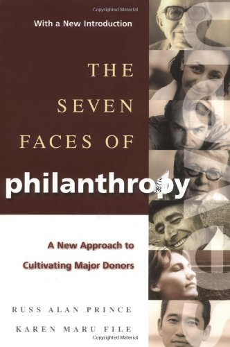 Seven Faces of Philanthropy A New Approach to Cultivating Major Donors  1994 edition cover