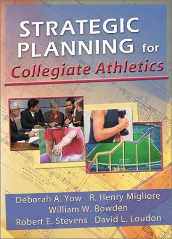 Strategic Planning for Collegiate Athletics   2000 edition cover