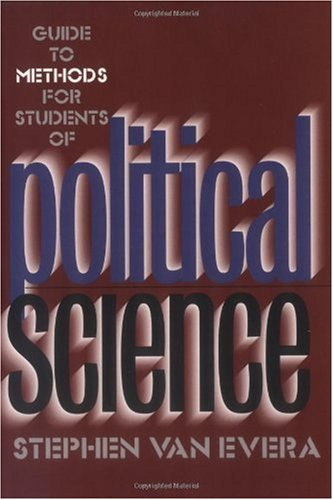Guide to Methods for Students of Political Science   1997 edition cover
