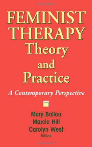 Feminist Therapy Theory and Practice A Contemporary Perspective  2008 edition cover