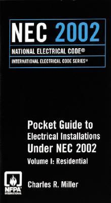 2002 NEC Residential Pocket Guide to Electrical Installations   2002 9780877654575 Front Cover