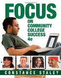 FOCUS on Community College Success  4th 2016 edition cover