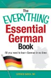 Essential German Book All You Need to Learn German in No Time!  2013 edition cover
