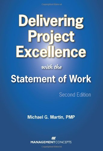 Delivering Project Excellence with the Statement of Work 2nd 2010 edition cover