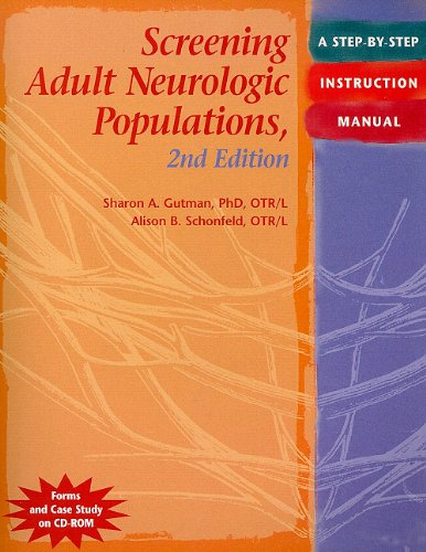 Screening Adult Neurological Populations  2nd 2009 edition cover