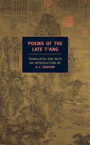 Poems of the Late T'ang   2008 edition cover